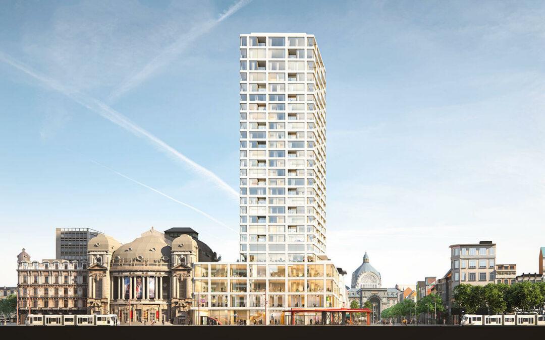 Werfbezoek Antwerp Tower